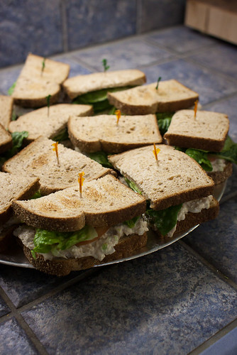 Project 52 - Week 10. White Tuna Sandwiches. | by J Kelley