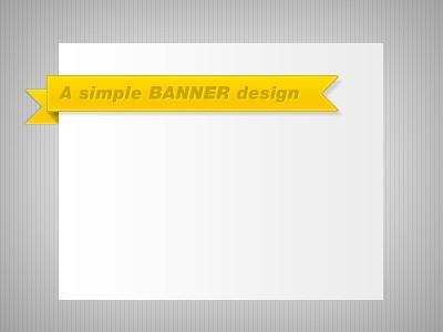 A simple banner design | jdsan's | Flickr