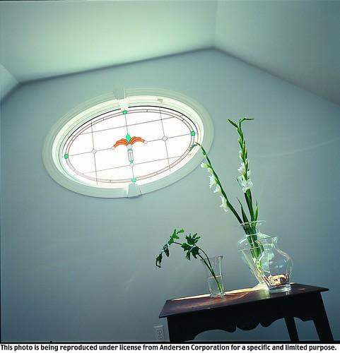 400 series art glass classic series regency design flickr for Andersen windows art glass
