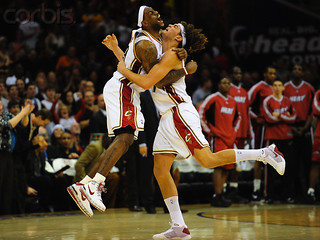 LeBron and Andy Celebrate a Game Winner vs. Heat | by Cavs History