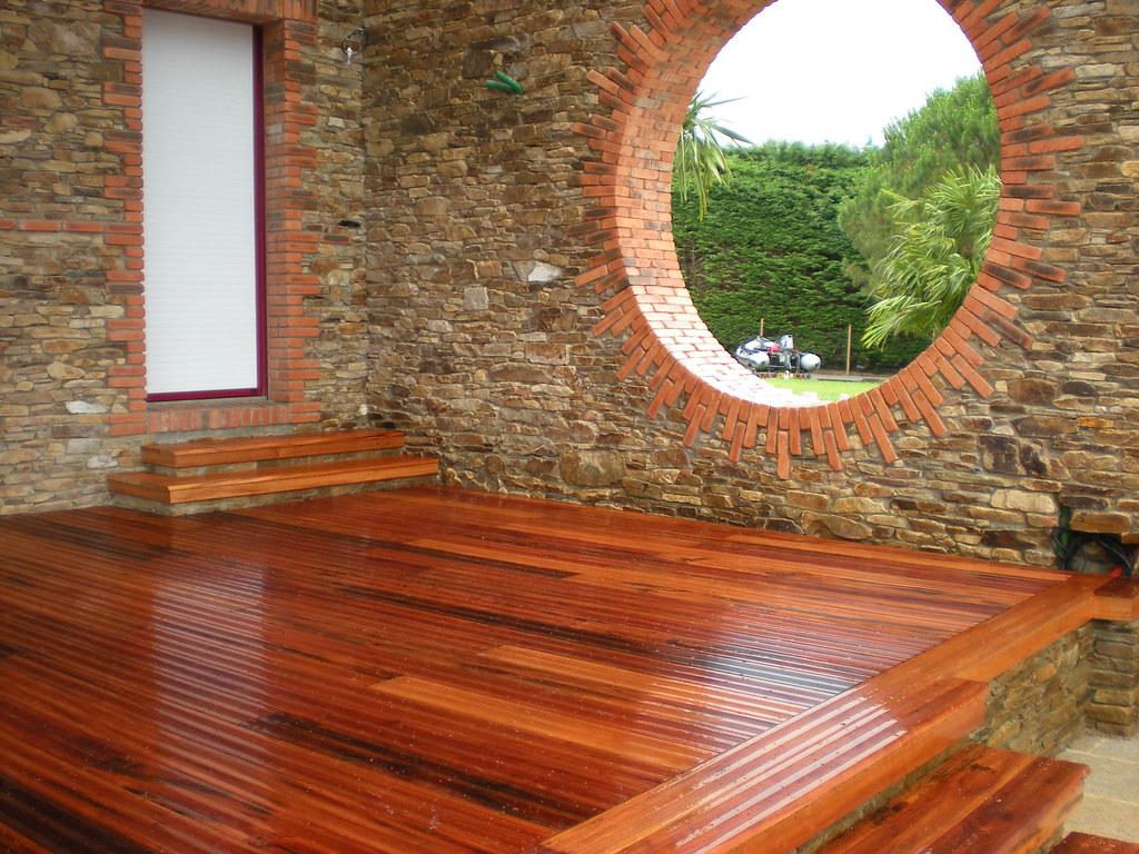 Terrasse En Bois Exotique En Muiracatiara Carquefou Bois Flickr