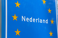 "On the occasion of the elections: Education in the Netherlands. EU flag (blue with yellow stars) with the inscript ""Nederland"". Photo: Anna & Michal, Licence: CC by-sa 2.0 Creative Commons Licence: Attribution + ShareAlike"