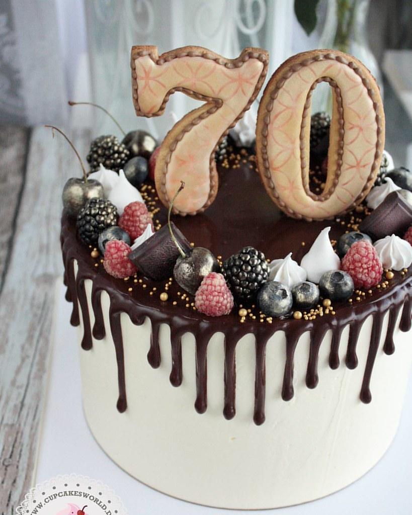 Zum 70te Geburtstag Schweinfurt Cakesworld Co Wurzburg Flickr