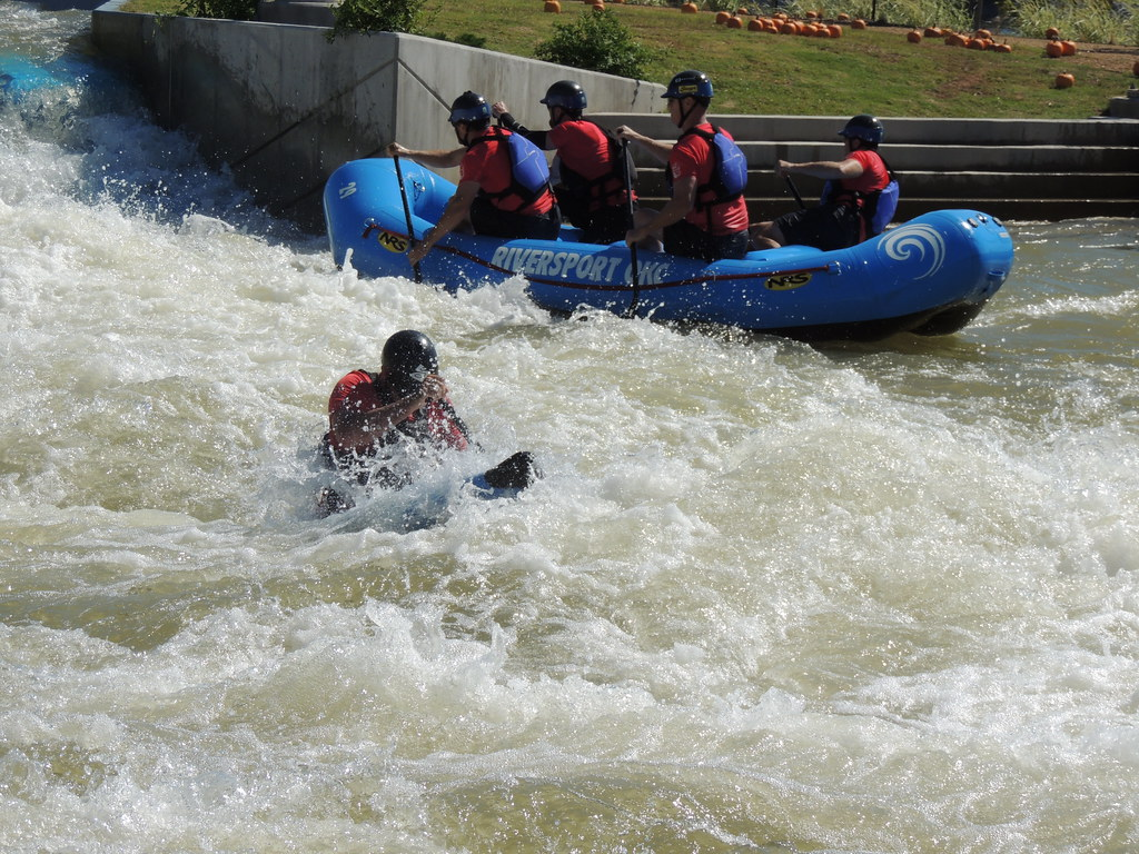 Whitewater Kayaking Fun At The Okc Riversport Rapids White
