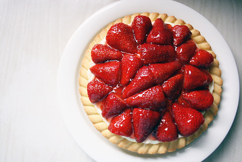 Strawberry and Cream Tart | by the_red_deer