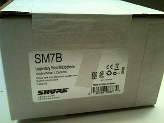 Shure SM7B | by oliverchesler