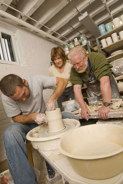 Edventures Fredericton Pottery Instruction Pottery Is One Flickr