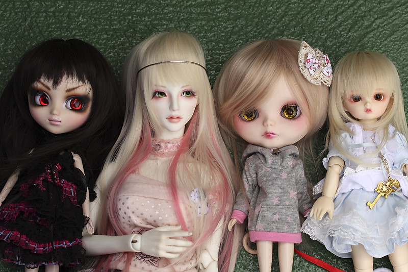 Size Comparison - various dolls | This is a quick size compa… | Flickr