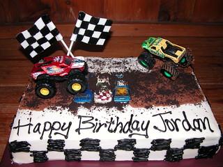 Monster Truck Cake Monster Jam Birthday Custom Designs