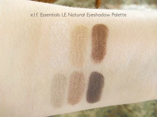e.l.f. LE Eyeshadow Palette Natural Swatches | by Mad Tofu
