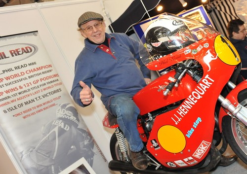 Race Retro 2011 Motorcycle Racing Legend Phil Read Mbe