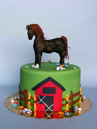 Horse Cake Happy 3 Bday Philip Историята на