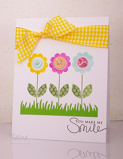 Smiling Spring | by Nerina's Cards