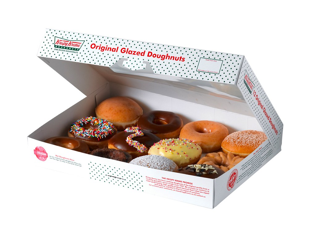 Krispy Kreme doughnuts | FoodBev Photos | Flickr