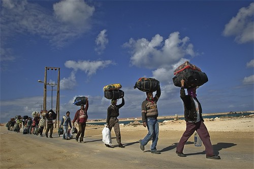 UNHCR News Story: UNHCR prepares for possible massive influx to Egypt from Libya | by UNHCR