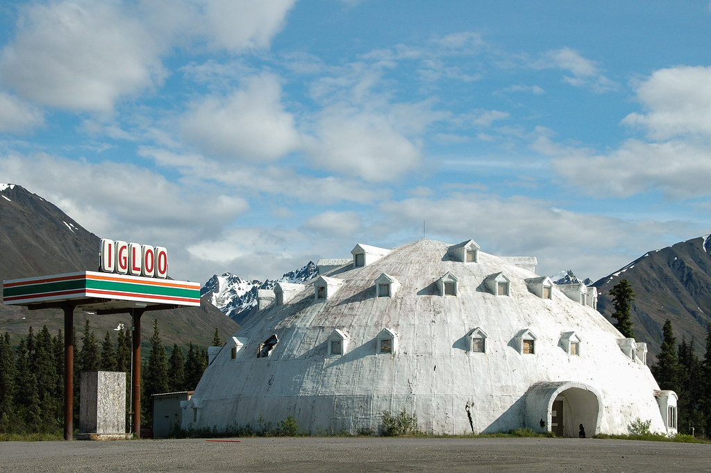 By Marie Laure Even Abandoned Igloo Hotel, George Parks Highway, Alaska. |  By Marie Laure Even