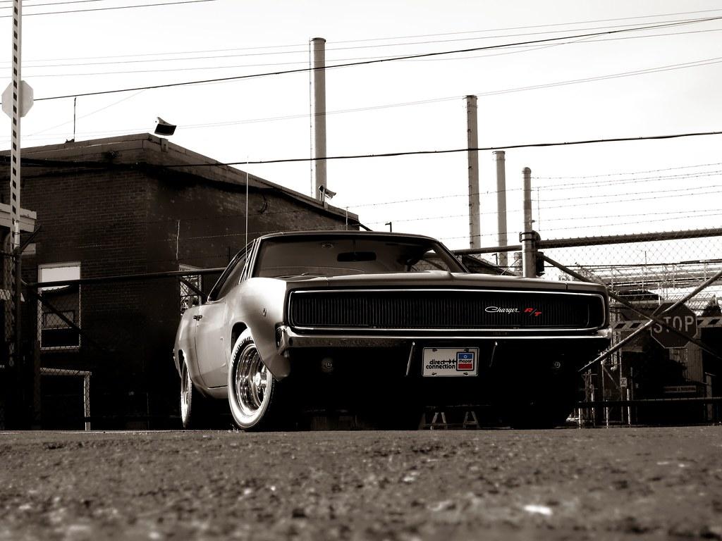 1968 Dodge Charger Rt Vintage Muscle Scott Crawford Flickr