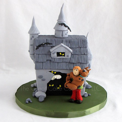 Scooby Doo Haunted House | by maimerbaker (The Great Cake Company)