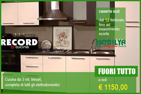 Cucina mobilya fuori tutto dal 12 febbraio fuori tutto for Mobilya caserta