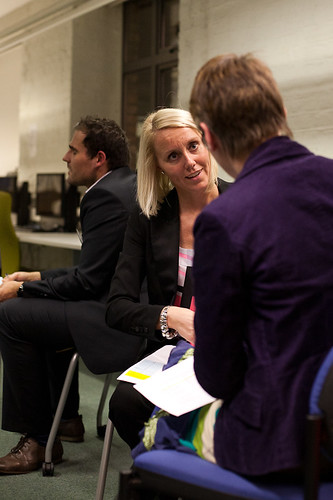 Networking at Manchester Freelance Fair, Feb 2011 | by Enterprise Freelance Fair