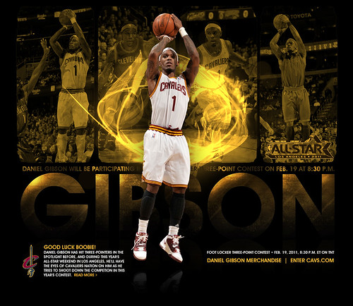 Daniel Gibson All-Star Promo | by Cavs History