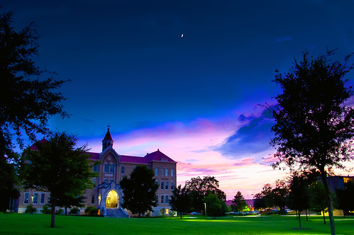 Moon Over Saint Edwards | by StuSeeger