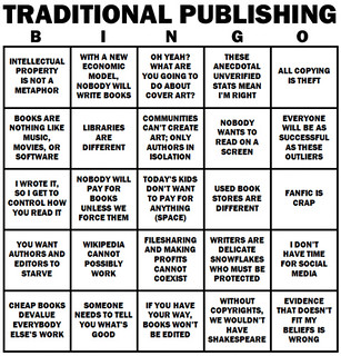 The Traditional Publishing Bingo Card | by Shmuel 510