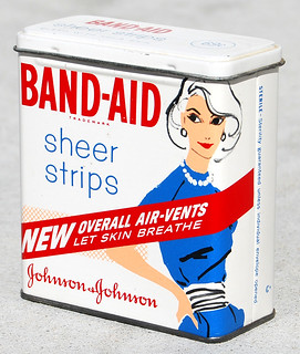 Band-Aid Sheer Strips, 1960 | by Roadsidepictures
