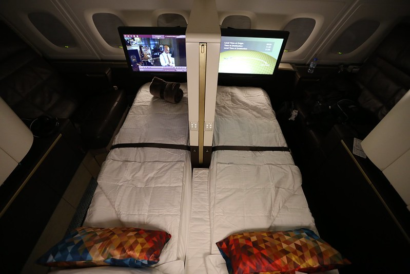 Etihad First Class Apartment shared bed