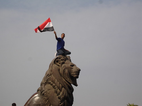 The lion of Egyptian revolution | by Kodak Agfa