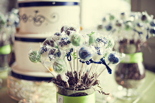 Wedding Cake Pops | by Sweet Lauren Cakes