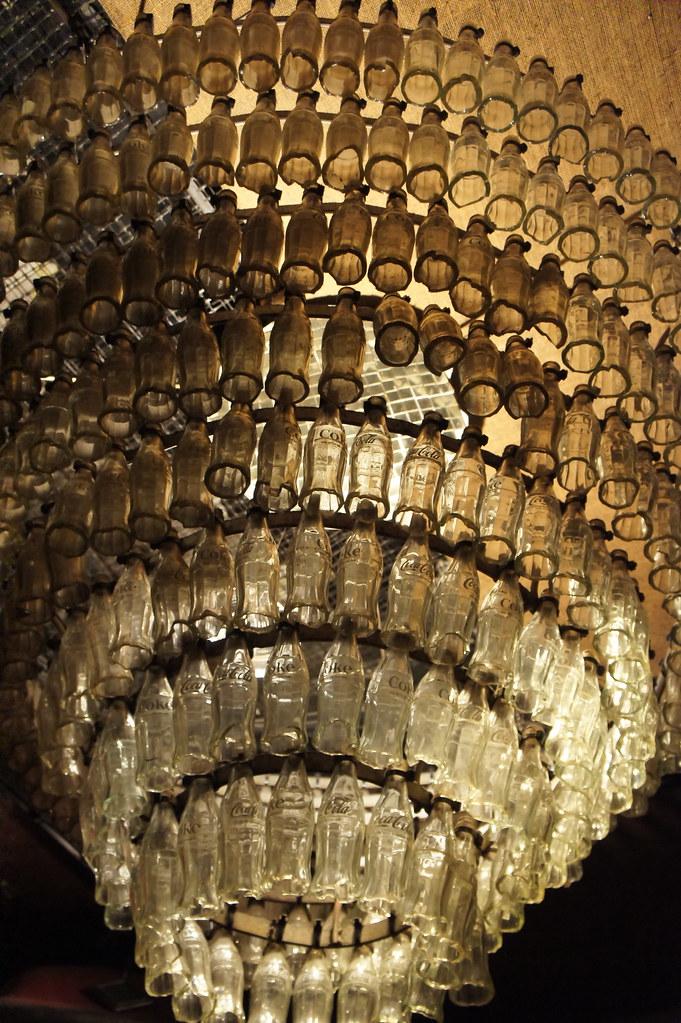 Coke bottle chandelier cape town south africa flickr coke bottle chandelier by joseph a ferris iii aloadofball Images