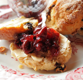 Sunny Sour Cherry Jam! With Buttermilk and Mixed Fruit Scones | by French Tart