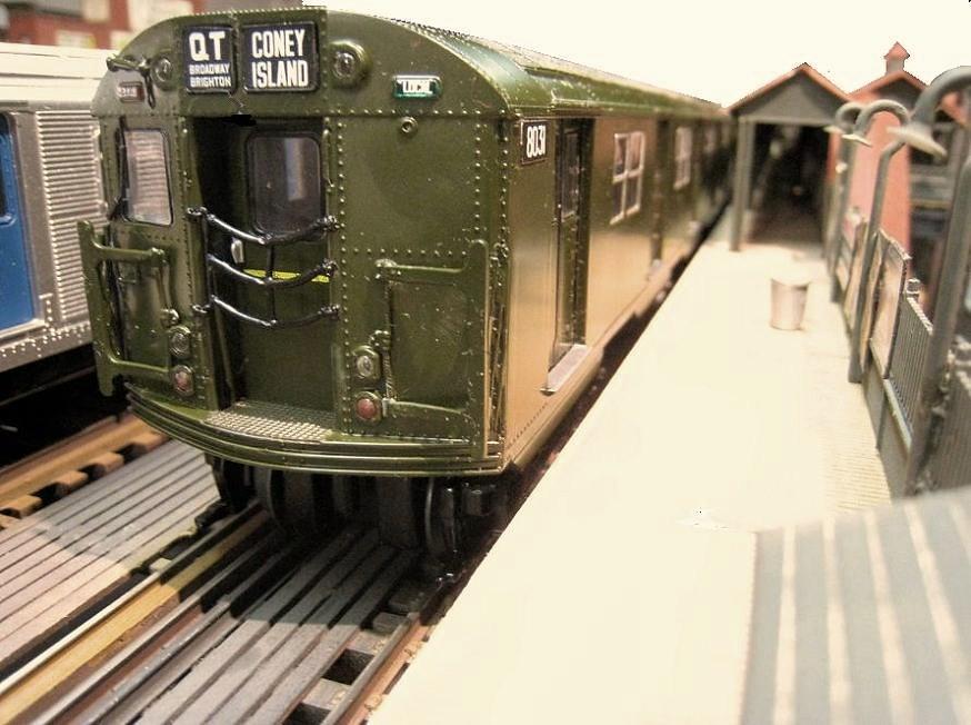 New O Scale Bmt Ind Subway Cars Flickr