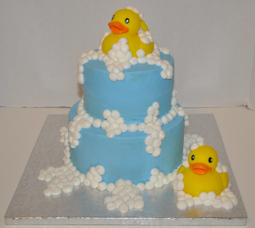 Rubber Duck Baby Shower Rubber Duck Baby Shower Cake Flickr