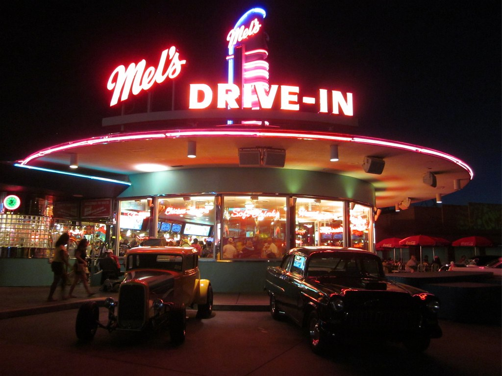 Mels Drive In Diner Universal Studios Orlando Fl By Brian P Bay