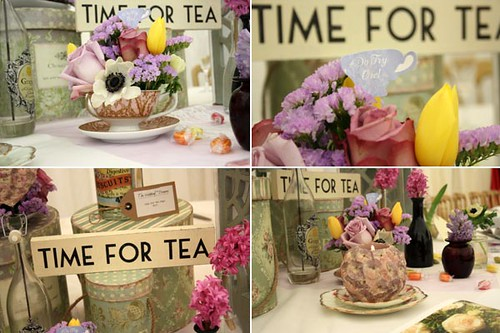 Afternoon Tea Wedding Decorations