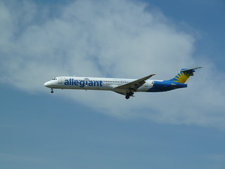Allegiant Airlines jet on final approach to LAX | by jeff_soffer