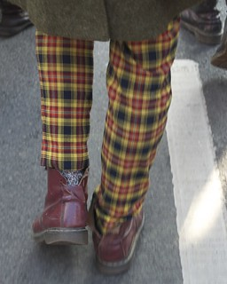 DMs and Tartan trousers | by Plashing Vole