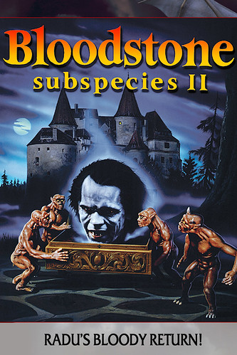 Bloodstone, Subspecies 2 (VHS Box Art) | by Aeron Alfrey