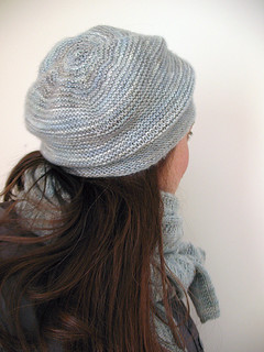 blue rikke hat | by coco knits