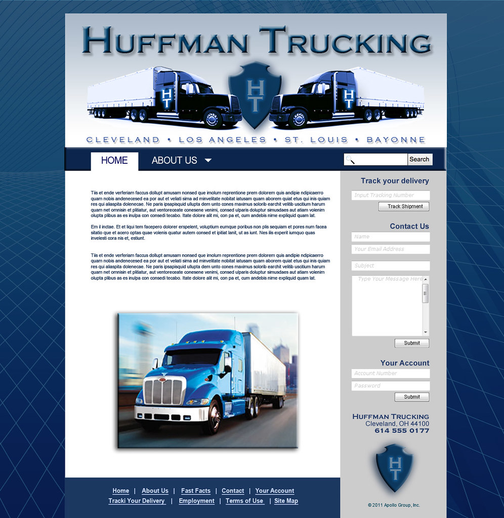 huffman trucking