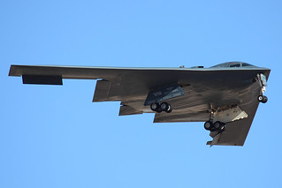 B-2 Returns after a long mission | by JetImagesOnline