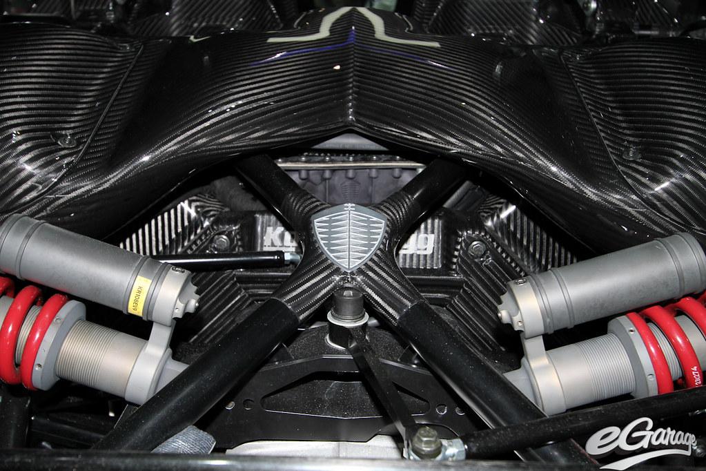 Koenigsegg Agera R Engine eGarage  2011 Geneva Motor show  Flickr