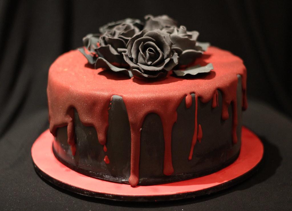 Gothic Birthday Cake Style Me Sweet Cakes Flickr