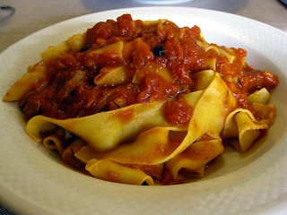 Pappardelle with wild boar sauce | by mariamjaan