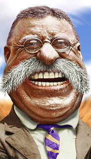 Teddy Roosevelt - Caricature | by DonkeyHotey