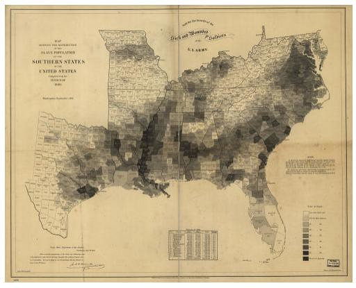 Census Population Density Map Based On Data From The Flickr - Us census population density map