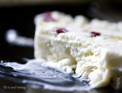 Ginger Almond & Cranberry Slice | by Elissa @ 17 and Baking