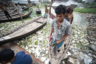 Contaminated Waters in Bangladesh Slum | by United Nations Photo